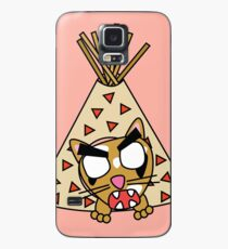 zombie cat cleo in a teepee Case/Skin for Samsung Galaxy