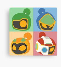 The Bomber Kings - Bomberman minimalist Canvas Print