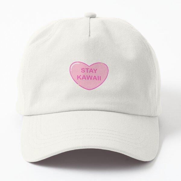 Stay Kawaii heart Dad Hat