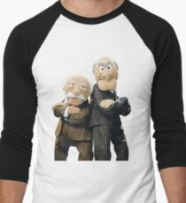 Statler and Waldorf Men's Baseball ¾ T-Shirt