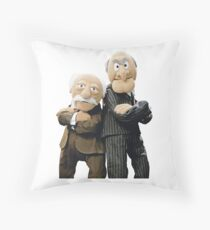 Statler and Waldorf Throw Pillow