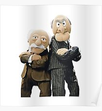 Statler and Waldorf Poster