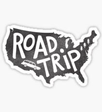 Road Trip USA Sticker