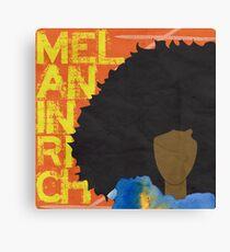 MELANIN RICH Canvas Print