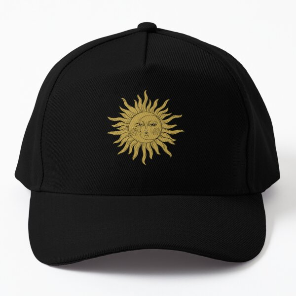 The Sun And Moon Are Lovers Graphic Design Baseball Cap