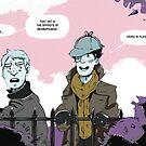 Sherlock Holmes- Deerstalker by kateandtheworld