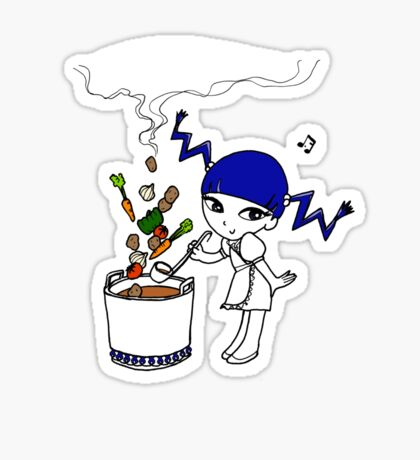Mixed Soup For Tonight T-Shirt Sticker