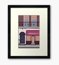 BBC Sherlock- 221B Baker Street Framed Print