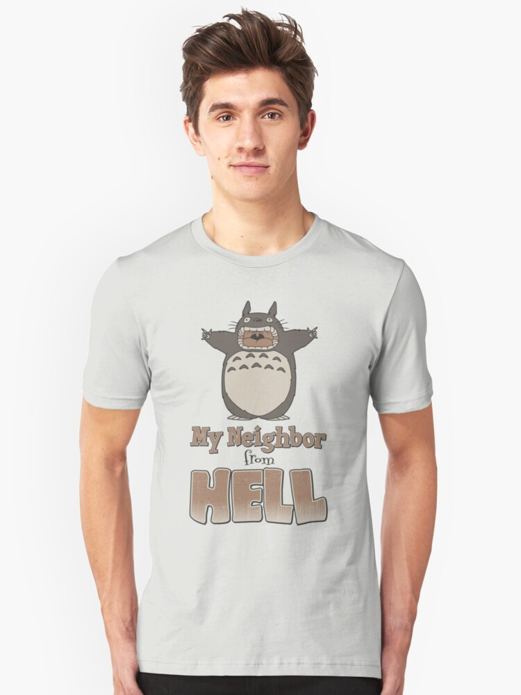 My Neighbor From Hell Unisex T-Shirt Front