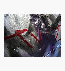 Graffiti Close Up II Photographic Print