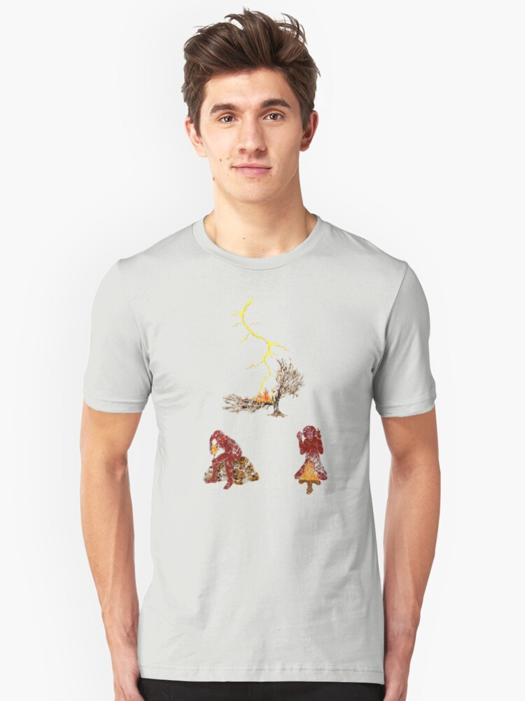 The Discovery of Fire #2 Unisex T-Shirt Front