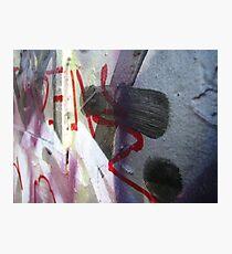 Graffiti Close Up III Photographic Print