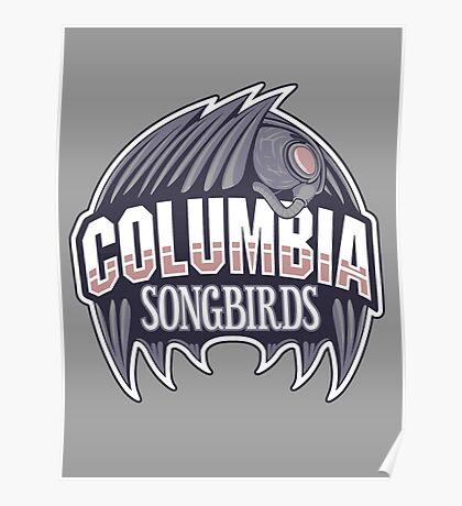 Columbia Songbirds Poster