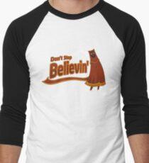 Don't Stop Believin' Men's Baseball ¾ T-Shirt