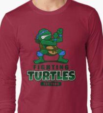 Fighting Turtles - Leonardo Long Sleeve T-Shirt