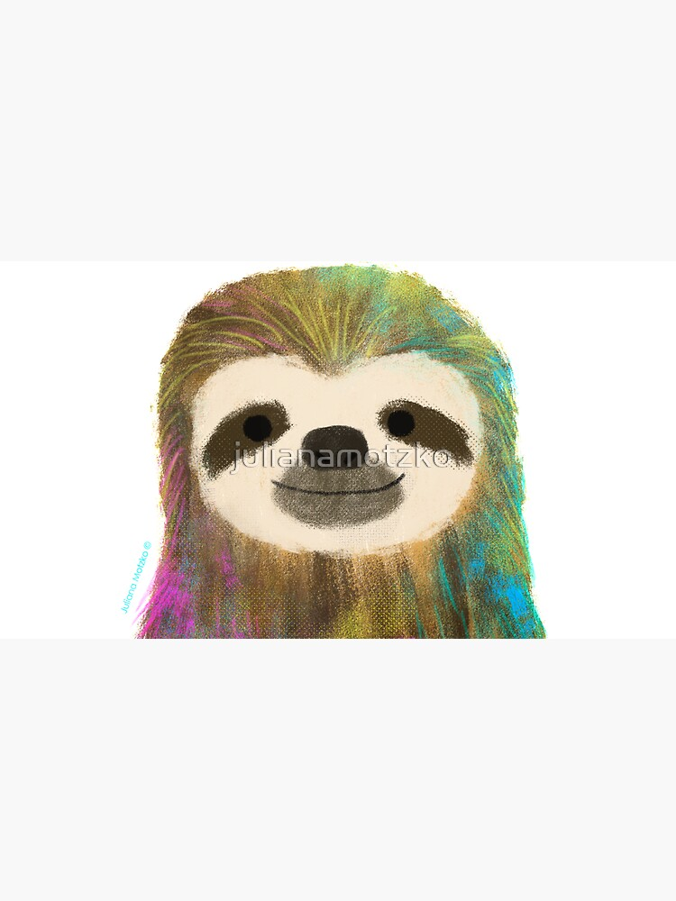 Sloth by julianamotzko