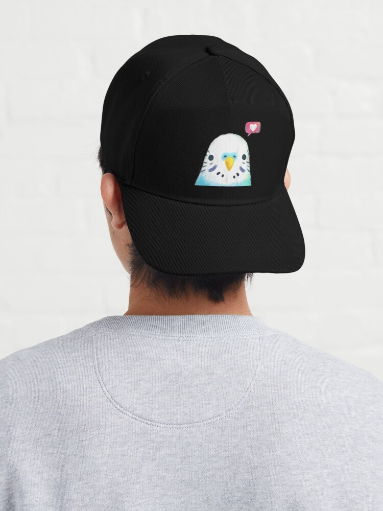 Alternate view of Budgerigar Blue Bird Cap