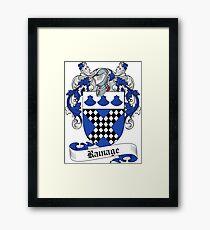Ramage (Edinburgh) Framed Print