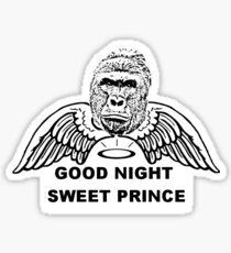 Good Night Sweet Prince Sticker