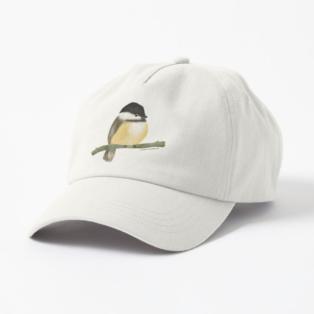 Black capped chickadee bird Cap
