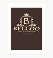 Belloq Antiquities Art Print