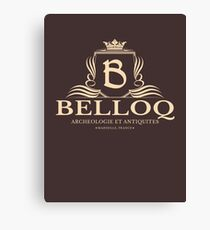 Belloq Antiquities Canvas Print