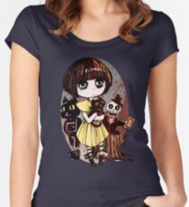 Fran Bow  Women's Fitted Scoop T-Shirt