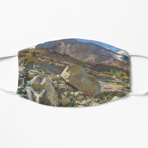 Simplon Pass Oil Painting by John Singer Flat Mask