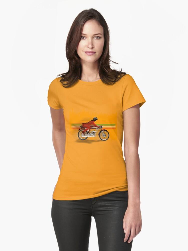 cafe racer mondial girl by dennis william gaylor