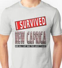 I Survived New Caprica Lousy Tshirt Unisex T-Shirt