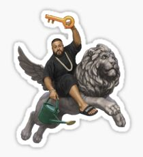 DJ Khaled Sticker
