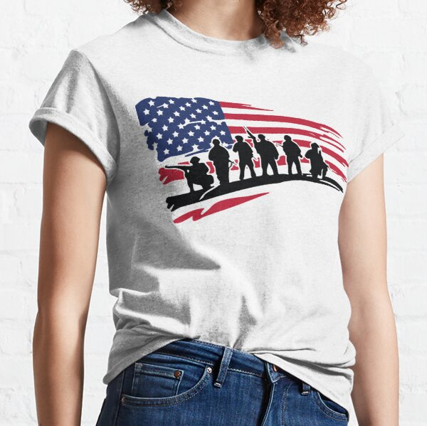 Soldiers of america Classic T-Shirt