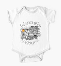muscle car 1 One Piece - Short Sleeve