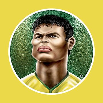 Footballicature : Thiago Silva by normannazar