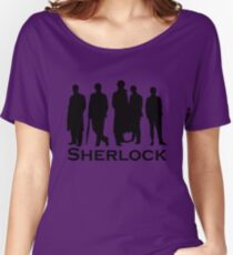 Sherlock Silhouettes  Women's Relaxed Fit T-Shirt