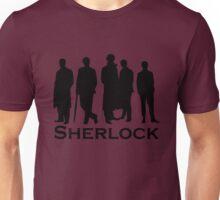 Sherlock Silhouettes  Unisex T-Shirt