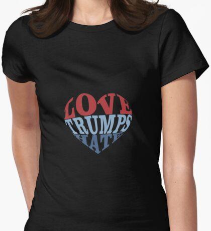 Love Trumps Hate Heart T-Shirt