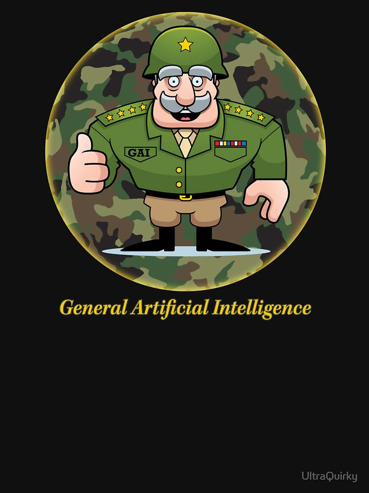 General Artificial Intelligence. by UltraQuirky