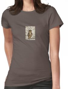Small Owl In Camouflage T-Shirt