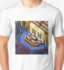 Election Infographic Parliament Hall T-Shirt