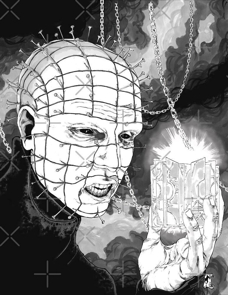 Original Pinhead Hellraiser Horror Design by BREEDsArt