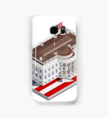 Election Infographic USA White House Samsung Galaxy Case/Skin