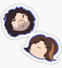 Grump Head Sticker