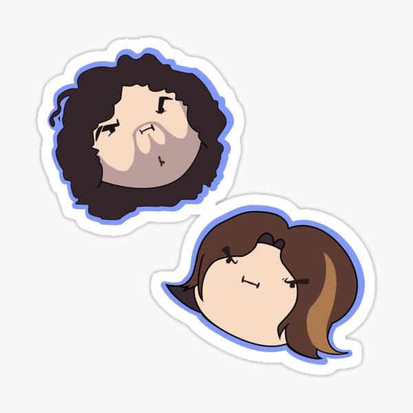 Grump Head Sticker