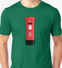 British Red Post Box  T-Shirt