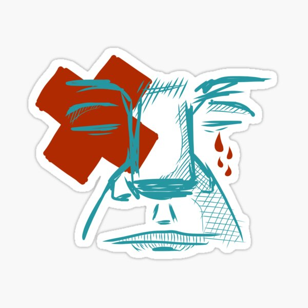 Man Sad Sticker