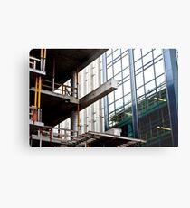 Construction Prongs Metal Print