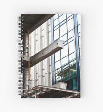 Construction Prongs Spiral Notebook