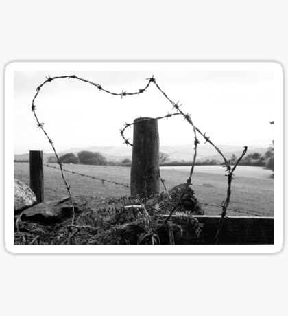 barb barb,,,barbed wire  Sticker