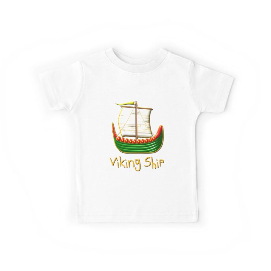 Viking Longship design by Dennis Melling